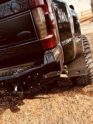 American Flag Mud Flap (Rek Gen 'Merica Mud Flaps Dually (Black Flag))