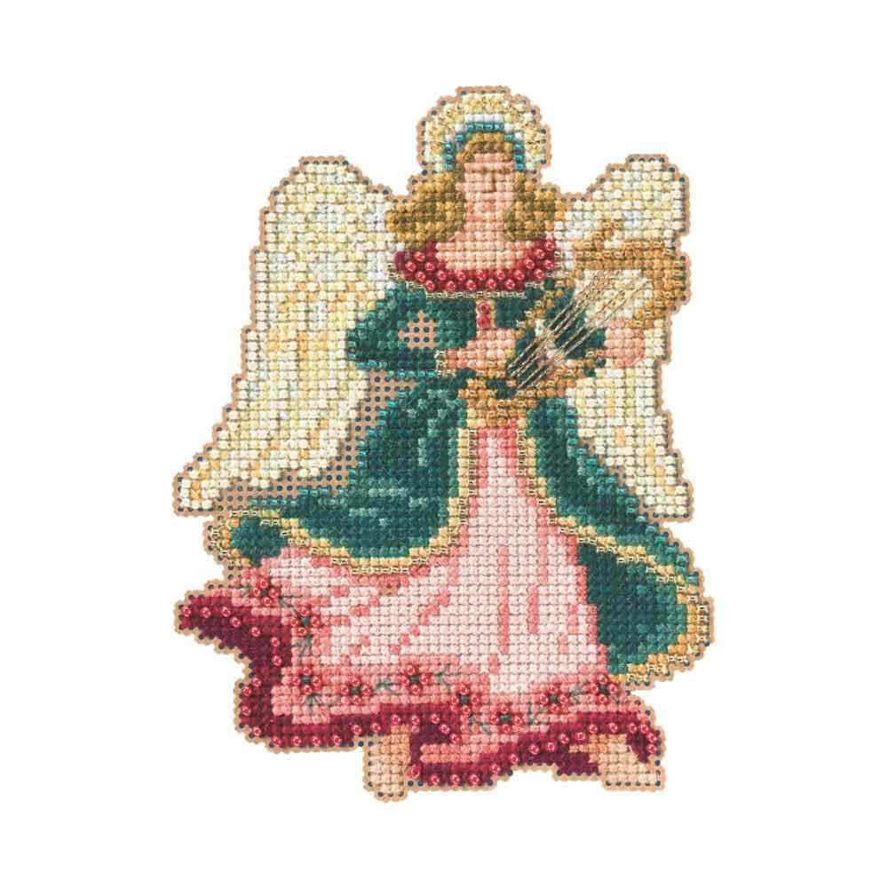 Gabrielle - Angel Trilogy - Beaded Cross Stitch Kit MH194302 by Mill Hill B00K6UY05K