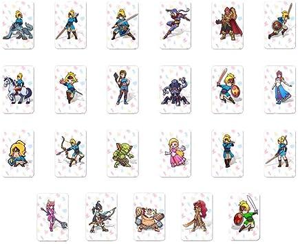 23 Tarjetas de Juego para Legend of Zelda: Breath of The Wild ...