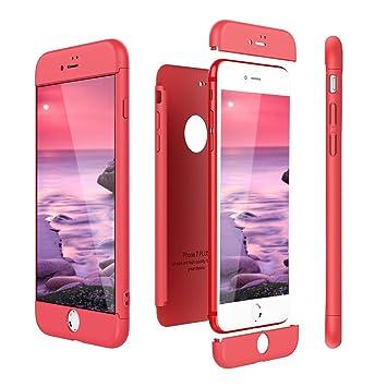 Funda iPhone 8 Plus, Carcasa iPhone 7 Plus, RosyHeart 3 en 1 Protettivo Rigido Case Cover del Híbrida para Apple iPhone 7 Plus / 8 Plus 5.5