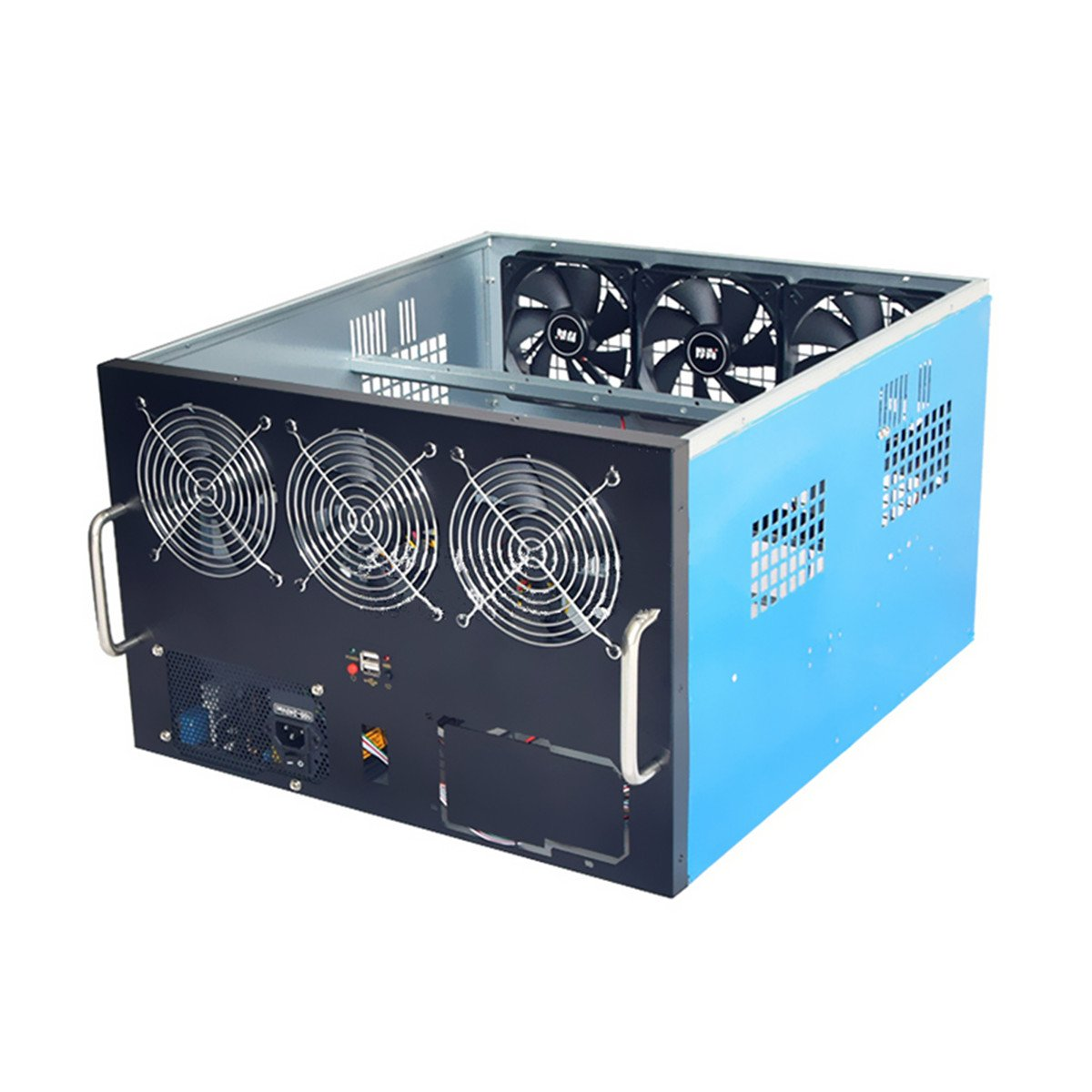 Generic 6 GPU Mining Frame Rig Case para ETH DIY Mining ...