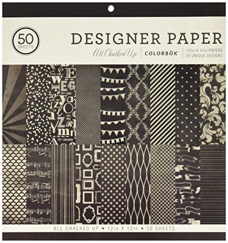 - Colorbok Designer Paper Pad, 12