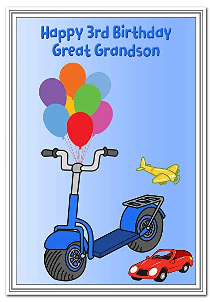 3rd Birthday Cards For Boys