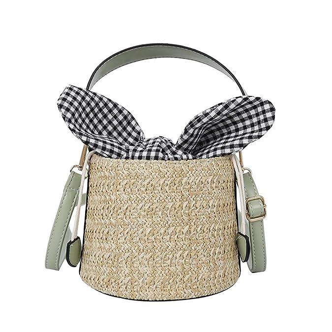 Mitlfuny handbemalte Ledertasche, Schultertasche, Geschenk, Handgefertigte Tasche,Frauen Strand Stroh Eimer Tasche Sackleinen