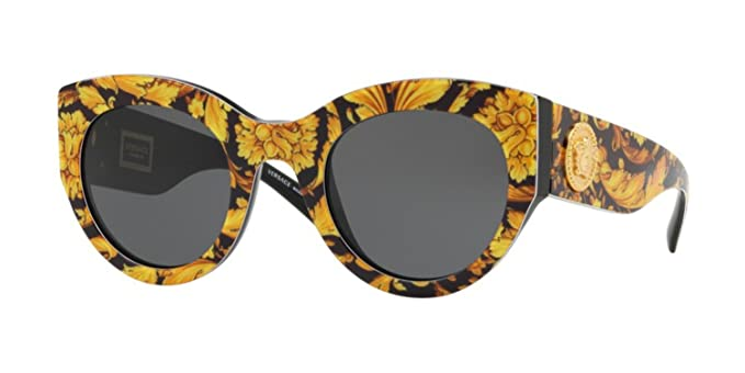 luxury aesthetic unique style meticulous dyeing processes Amazon.com: Sunglasses Versace VE 4353 A 528387 BAROQUE ...