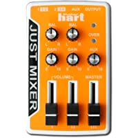 JUSt Mixer Audio/Dj Mixer - Battery/USb Powered Portable Pocket Audio Mixer W/ 3 Stereo Channels (3.5mm) PlUS On/Off Switch