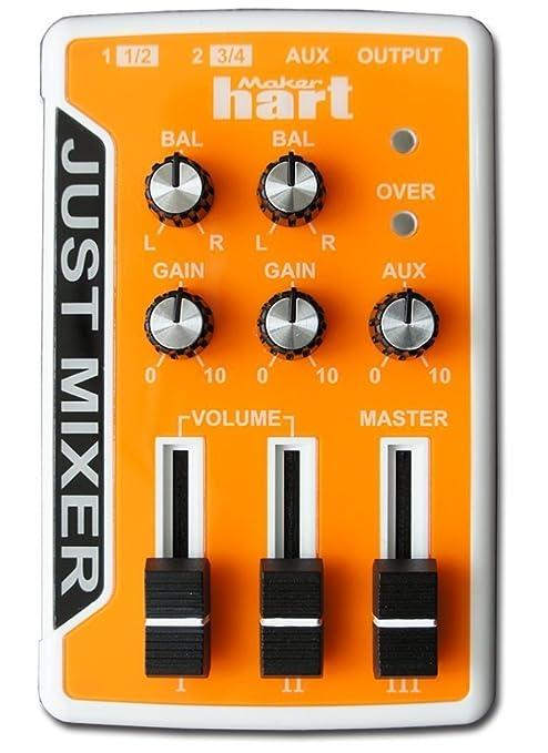 2 opinioni per JUST MIXER Mixer Audio/DJ – Mixer Portatile Tascabile Alimentazione Batteria/USB