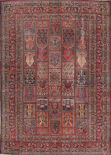 """Rug Source Pre-1900 Palace Size 11x15 Dorokhsh Handmade Antique Persian Area Rug (14' 9"""" x 10' 6"""")"""
