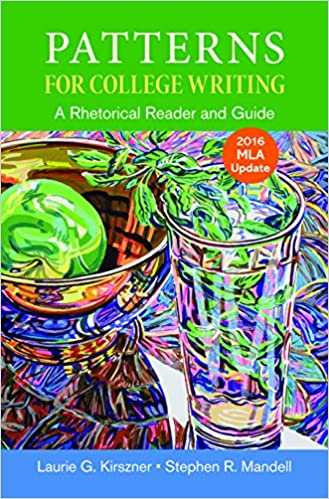 Patterns For College Writing With 40 MLA Update Kindle Edition Impressive Patterns For College Writing 13th Edition