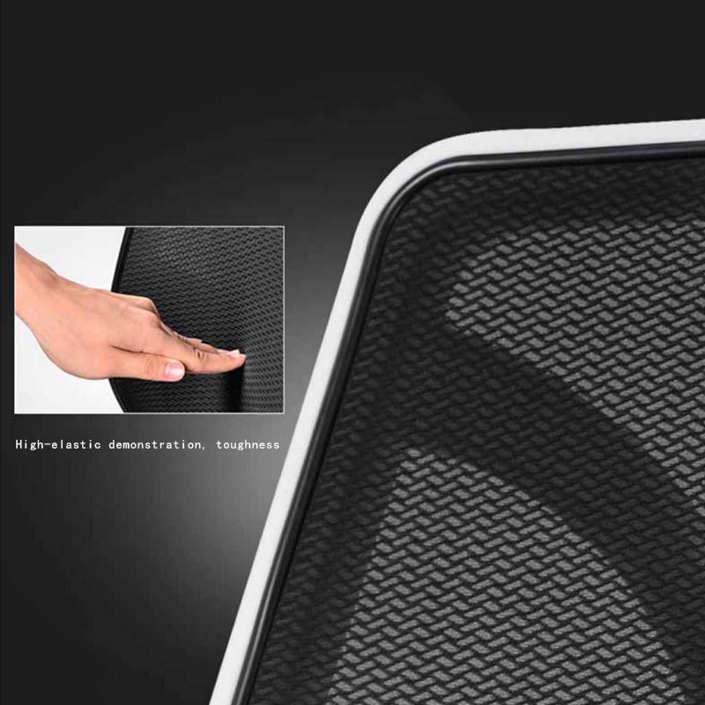 Kontorsstol datorstol ergonomiker med bekväm liggande arbetsrum sovrum svängbar stol Blåsvart Helt svart