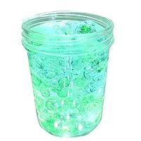 Igemy Schöne Farbe Farbverlauf Schleim Squishy Putty Duft Stress Kinder Clay Spielzeug (Grünes Hellblau)