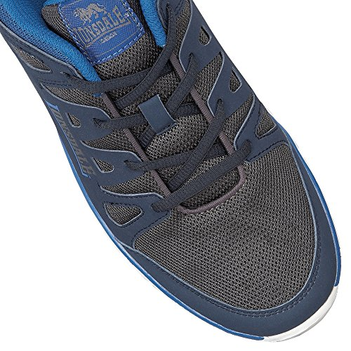 Baskets Lonsdale Caldas Homme Navy Blue Grey qxYFZC5n
