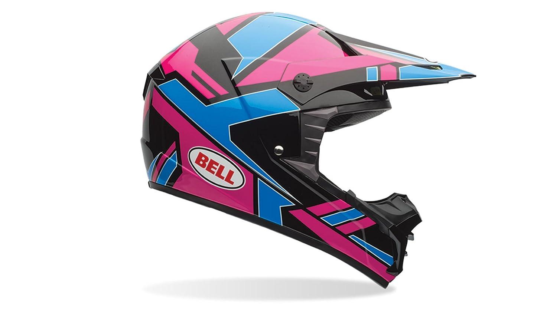 Bell Powersports SX-1 Motorradhelm Mehrfarbig Race Gr/ün M