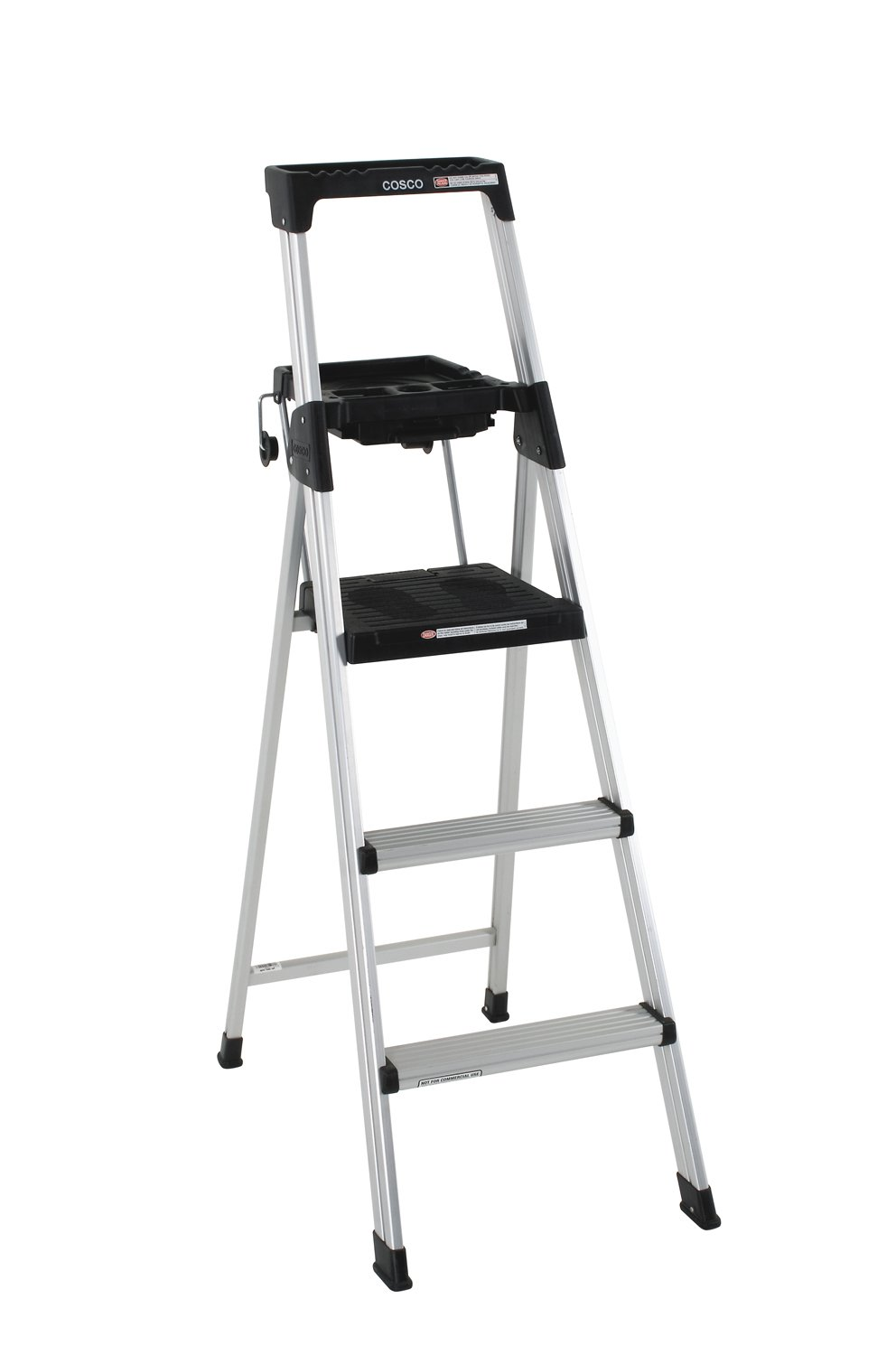 Cosco 20-502ABL Signature Series Premium 5-Foot Aluminum Step Ladder
