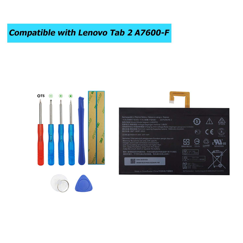 Bateria Tablet L14d2p31 Para Lenovo Tab 2 A7600-f A10-70f Ta