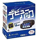 PlayStation Vita debut pack 3G / Wi-Fi model Crystal Black