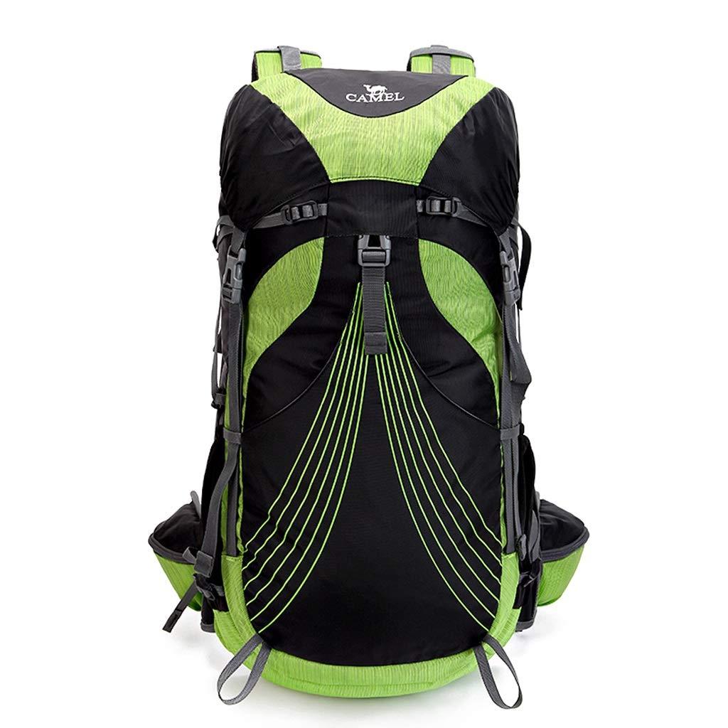 屋外バックパック アウトドア登山バックパック36 Lユニセックスハイキングキャンプバッグトラベルバッグ HBJP (色 : 緑) B01354NZI6 緑