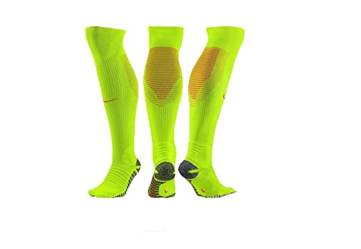 a3b9b32dd888 Nike NikeGrip Strike Cushioned Over-The-Calf Football Sock  VOLT  (12