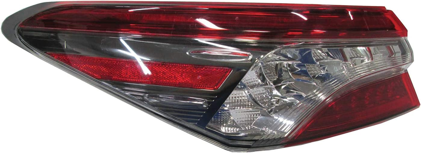 Multiple Manufactures TO2804137 Standard No variation Tail Light Assembly