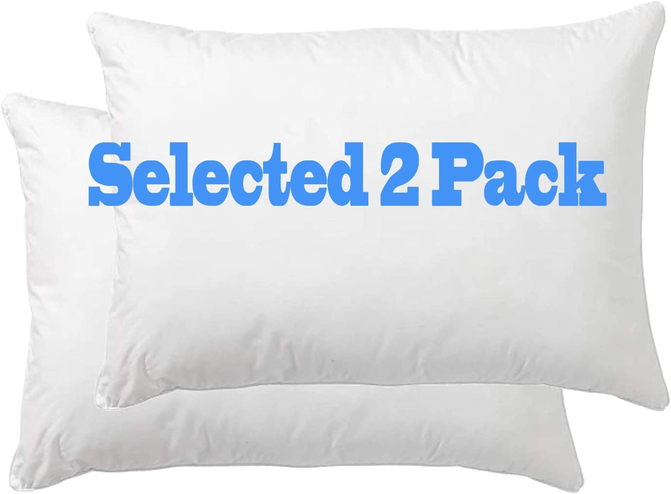 Amazon Com Danmitex Oblong Throw Pillow Insert Decorative Pillow Stuffer Down And Feather Filled Cotton Fabric White 12x20 Set Of 2 Suitable For Home Bed Lumbar Kitchen Dining