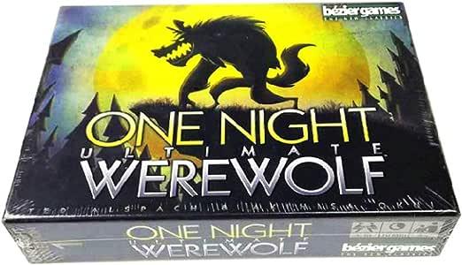 M-GLT Una Noche último Hombre Lobo, Juego de Mesa del Partido Tarjetas de Juego 3 a 10 Jugadores del Juego de la Familia (Inglés): Amazon.es: Hogar