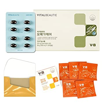 AmorePacific Vital Beautie, VB program Omega Care 550mg X 120 capsules EPA to DHA in
