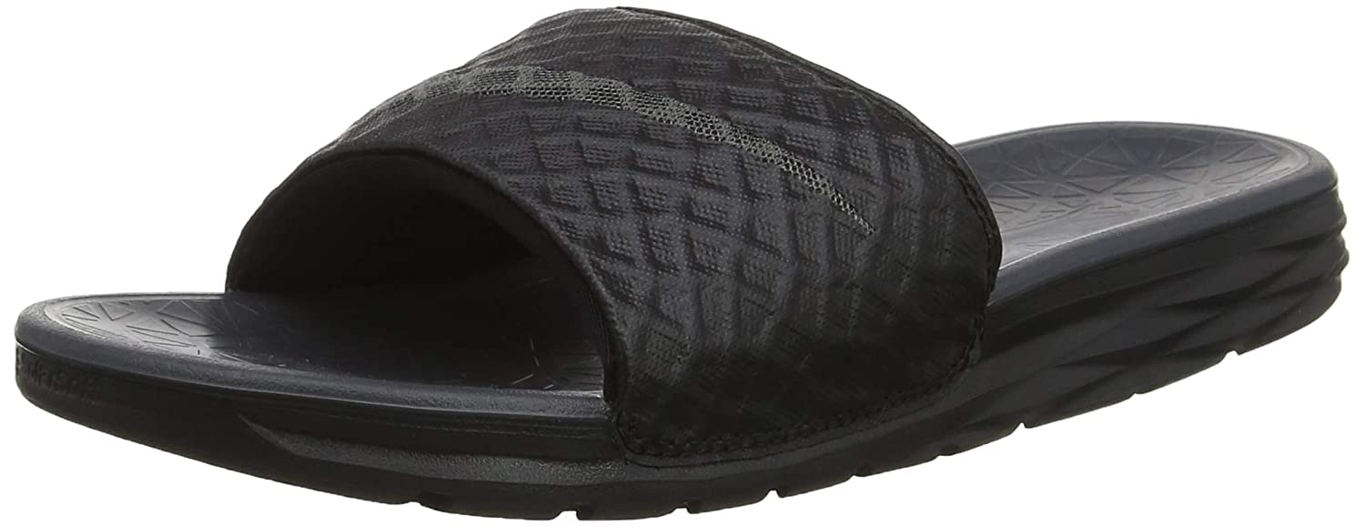 detailed look 16eb8 58c72 Amazon.com   Nike Men s Benassi Solarsoft Slide Sandal Black Anthracite  Size 12 M US   Sandals