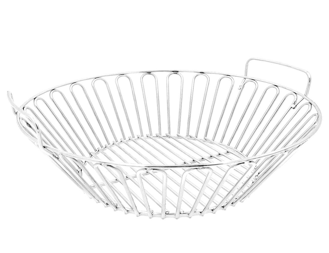 RunTo 19 inch Stainless Steel Charcoal Ash Basket Fits for The Kamdo Joe Big Joe and Other Grills by RunTo