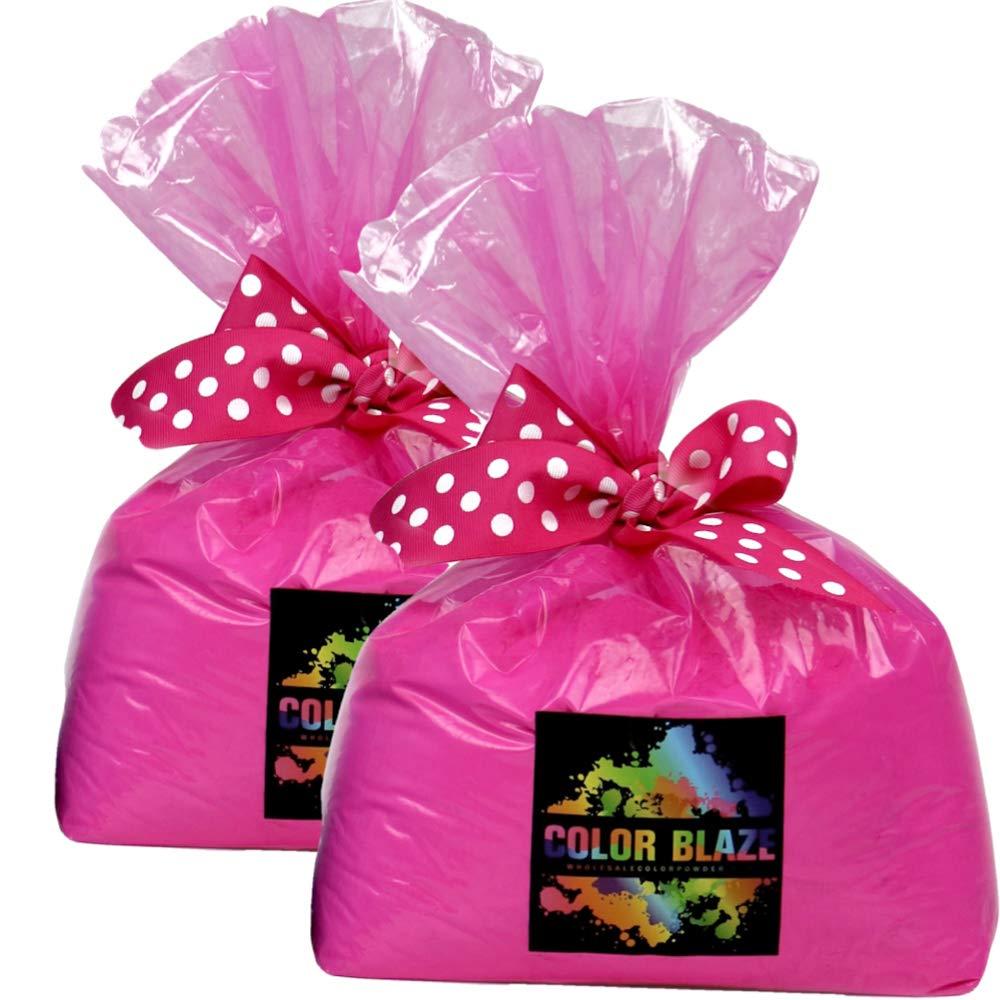 Gender Reveal Pink Color Powder 10 Pounds by Color Blaze Supply/Wholesale Color Powder