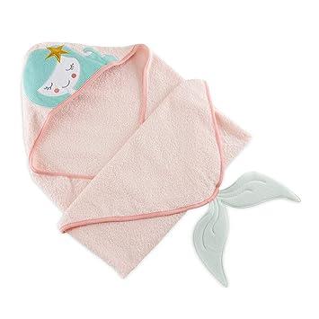 Amazon.com: Baby Aspen - Toalla con capucha de sirena, color ...