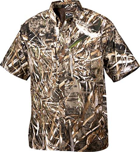 Drake Short Sleeve Vented Wingshooters Shirt