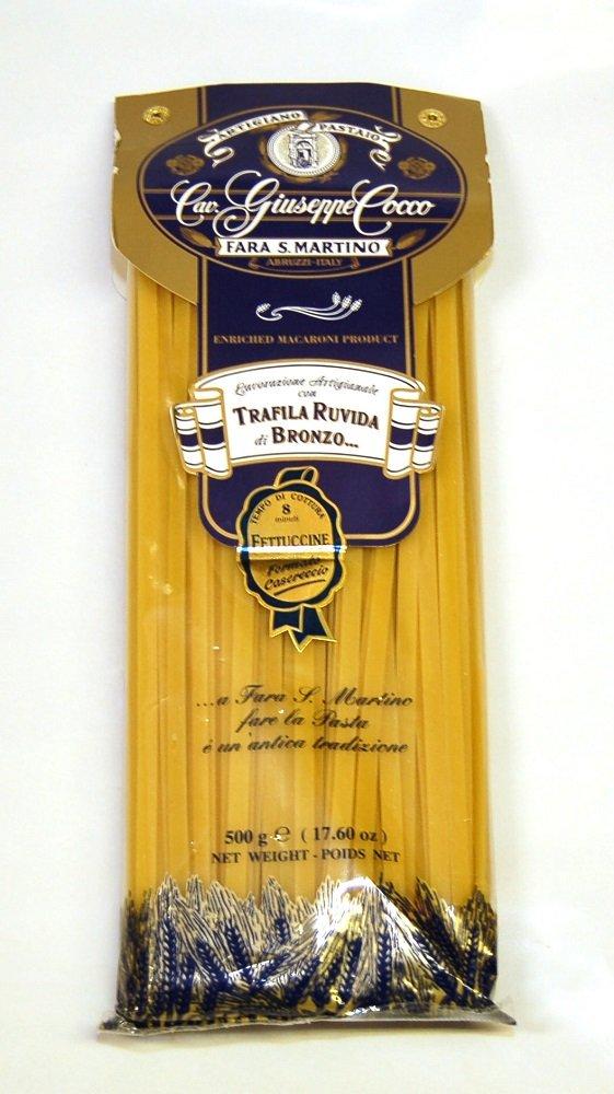Cav. Giuseppe Cocco - Fettuccine N. A42, (4)- 17.6 oz. Packages
