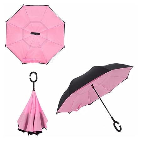 Yuding Paraguas Paraguas Anti-UV Impermeable a Prueba de ...
