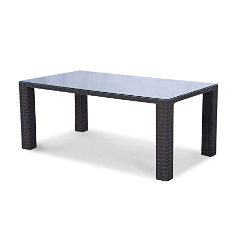 Source Outdoor St. Tropez Dining Table, 84 by 40-Inch - Amazon.com : Source Outdoor St. Tropez Dining Table, 84 By 40-Inch