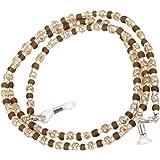 Women's Decorative Glasses Spectacle Eyewear Bead Chain Holder