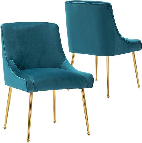 Wahson Velvet Upholstered Dining Chair
