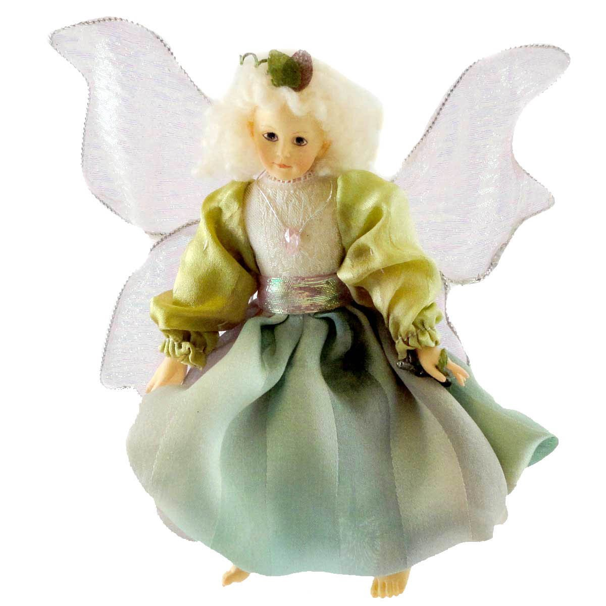 Boyds Bears Resin Irridessa Faerielocket Fairy Whispers - Resin & Fabric 5.00 IN