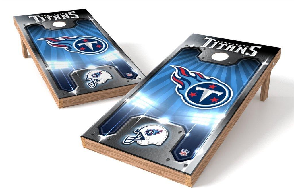 Plate Design PROLINE NFL 2x4 Cornhole Board Set with Bluetooth Speakers