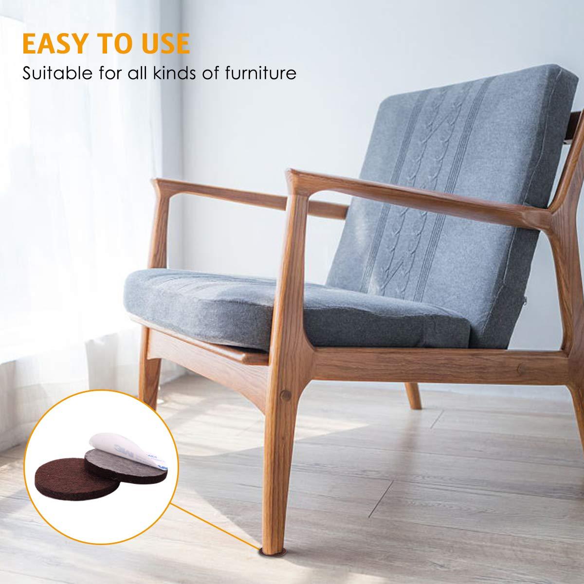 Amazon.com: MOAOO - Almohadillas de fieltro para muebles ...