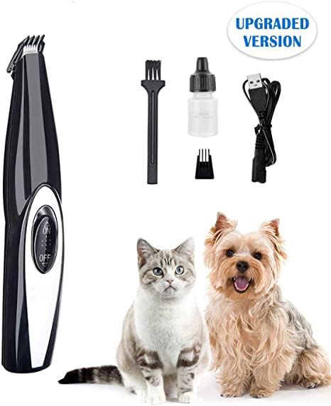 Cordless Cat And Small Dogs Clipper Dog Clippers Low Noise Electric Pet For
