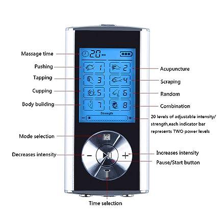 Aire Ambiente Detector De Nervios Estimulador Muscular. Dispositivo Recargable De La Terapia Del Masaje ...