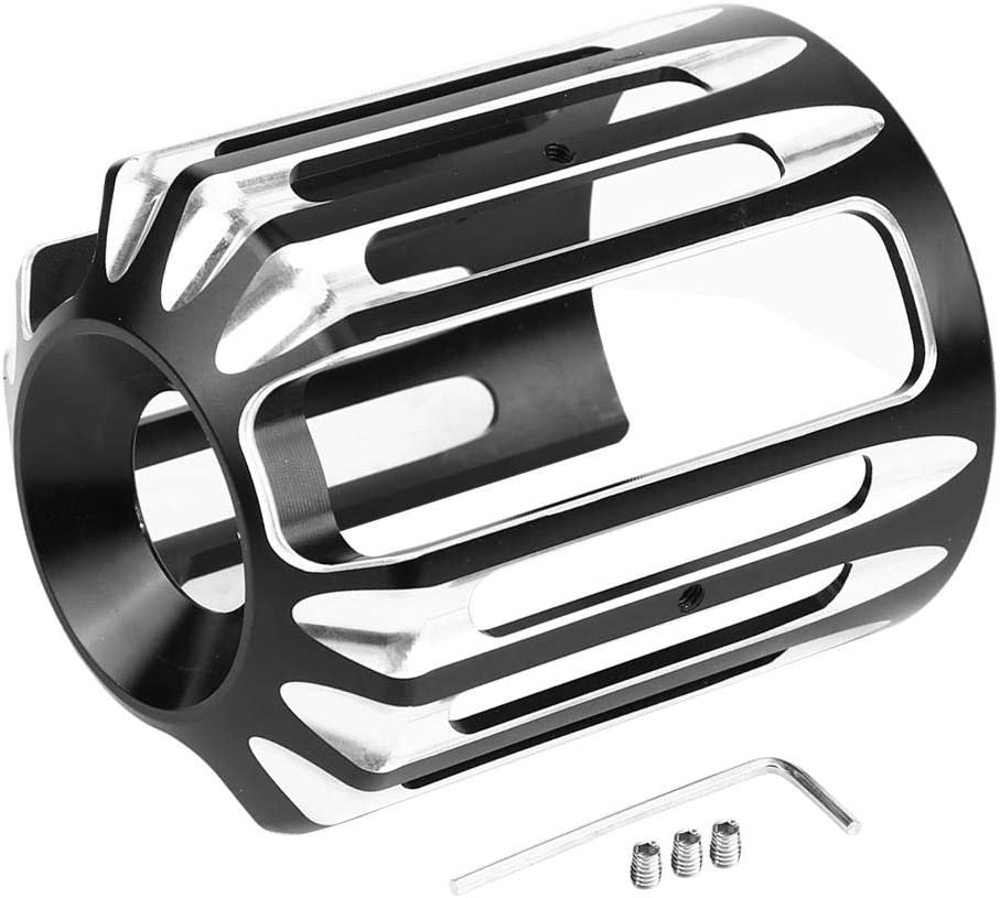Broco CNC de aluminio de la motocicleta de la cubierta del filtro de aceite for Sportster XL 883 Dyna Softail Touring Unive