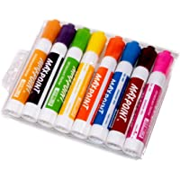 Maxpoint Whiteboard Marker -Dry Erase & Wet Erase Markers (Mixed 8 Color)