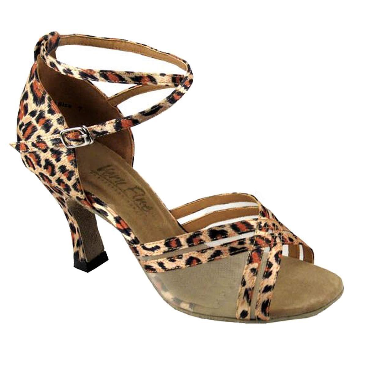 レディース社交ダンスシューズウェディングサルサタンゴ靴5017eb comfortable-very Fine 2.5
