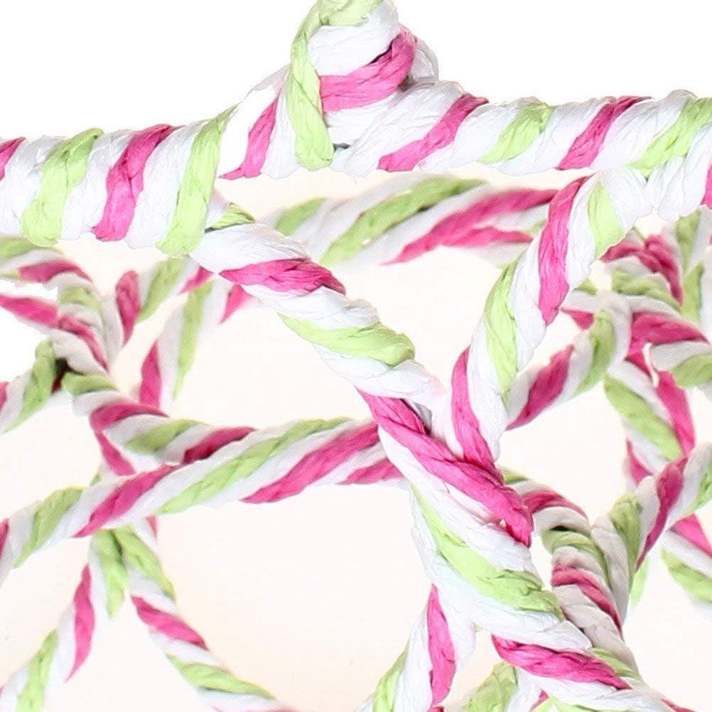 Random Color FABSELLER 28 Holes Scarf Holder Organizer Ring Rope Slots Holder Hook Wraps Shawl Tie Storage Hanger Organizer