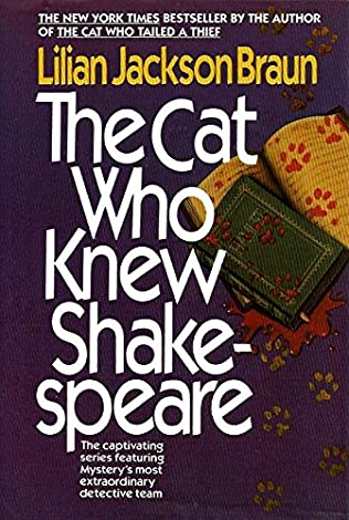 book cover of The Cat Who Knew Shakespeare