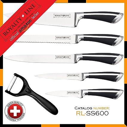 Compra Royalty Line RL-SS600 5 piezas acero inoxidable juego ...