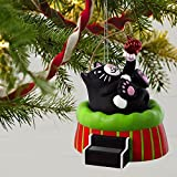 Hallmark Ornament 2018 Year Dated, Christmas Cat