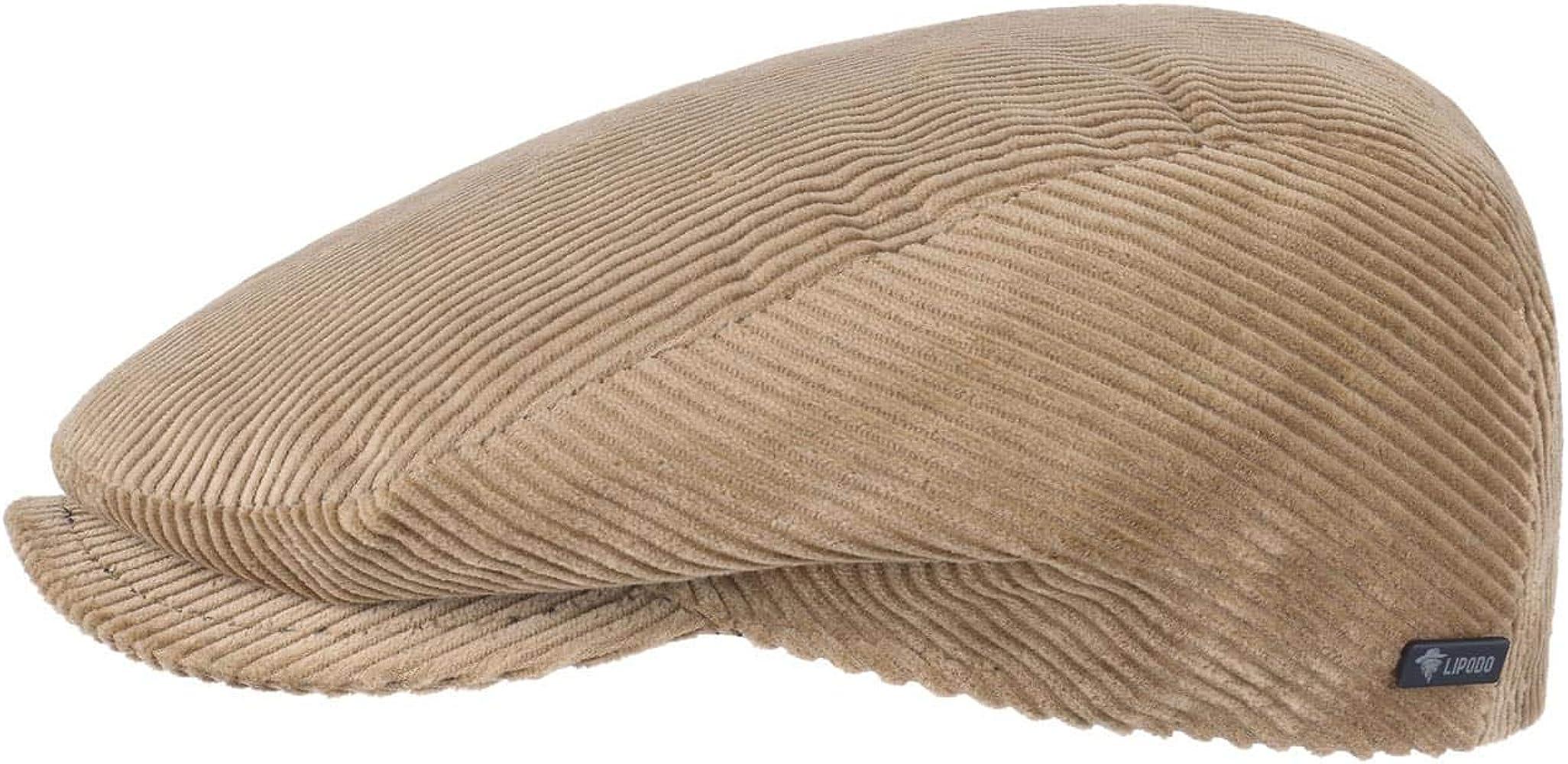 Lipodo Gorra Gatsby Cordial Algodón - Beige - Talla 49 cm - Gorra de Pana de Hombre con Forro Acolchado para Invierno - Gorra Deportiva: Amazon.es: Ropa y accesorios
