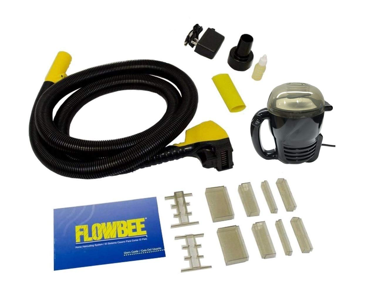 Flowbee Hair Cutting System with Flowbee Super Mini-Vac - Clipper Head/Hose & Vacuum sold together